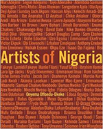 "book cover ""Artists of Nigeria"""