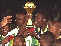 Cameroon Winner 2002 Cup of Nations