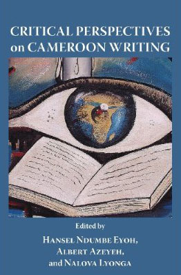 book cover: Critical perspectives on Cameroon writing