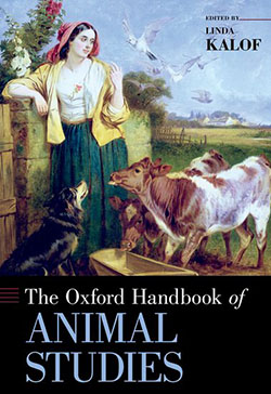 "book cover ""The Oxford Handbook of Animal Studies"""