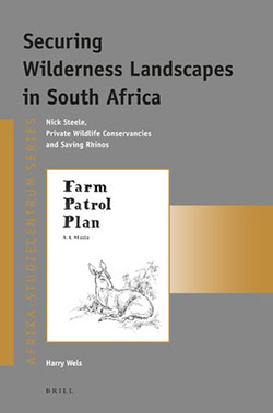 "book cover ""Securing wilderness landscapes in South Africa"""