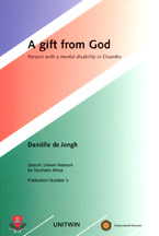 book cover A gift from God: persons with a mental disability in Ovambo