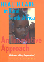 book cover Health care in rural South Africa