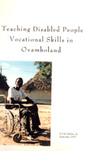 book cover Teaching disabled people vocational skills in Ovamboland