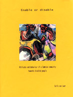 book cover Enable or disable: attitudes and behaviour of a Zambian community towards disabled people