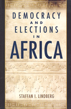 book cover Democracy and elections in Africa