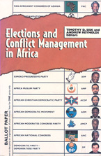 book cover Elections and conflict management in Africa