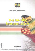 book cover Food insecurity assessment Kenya