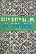 book cover Islamic family law in a changing world