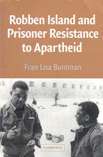 book cover Robben Island and prisoner resistance to apapeid