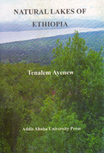 book cover Natural lakes of Ethiopia