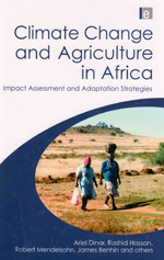 book cover Climate change and agriculture in Africa