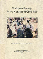 book cover Sudanese society in the context of civil war