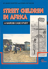 book cover Street children in Africa