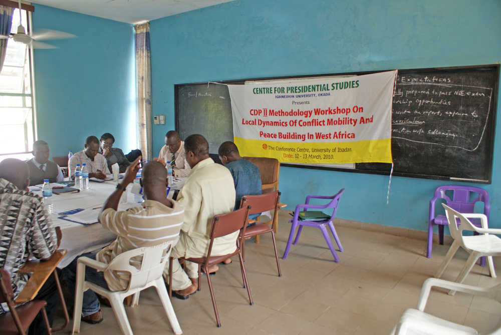 CDP, Workshop in Ibadan, Nigeria, March 2010