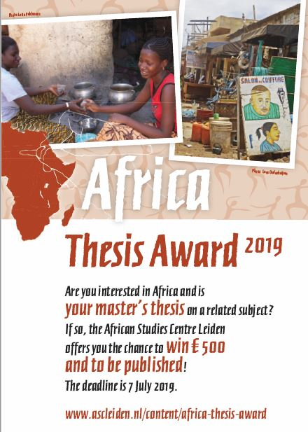 Flyer Africa Thesis Award