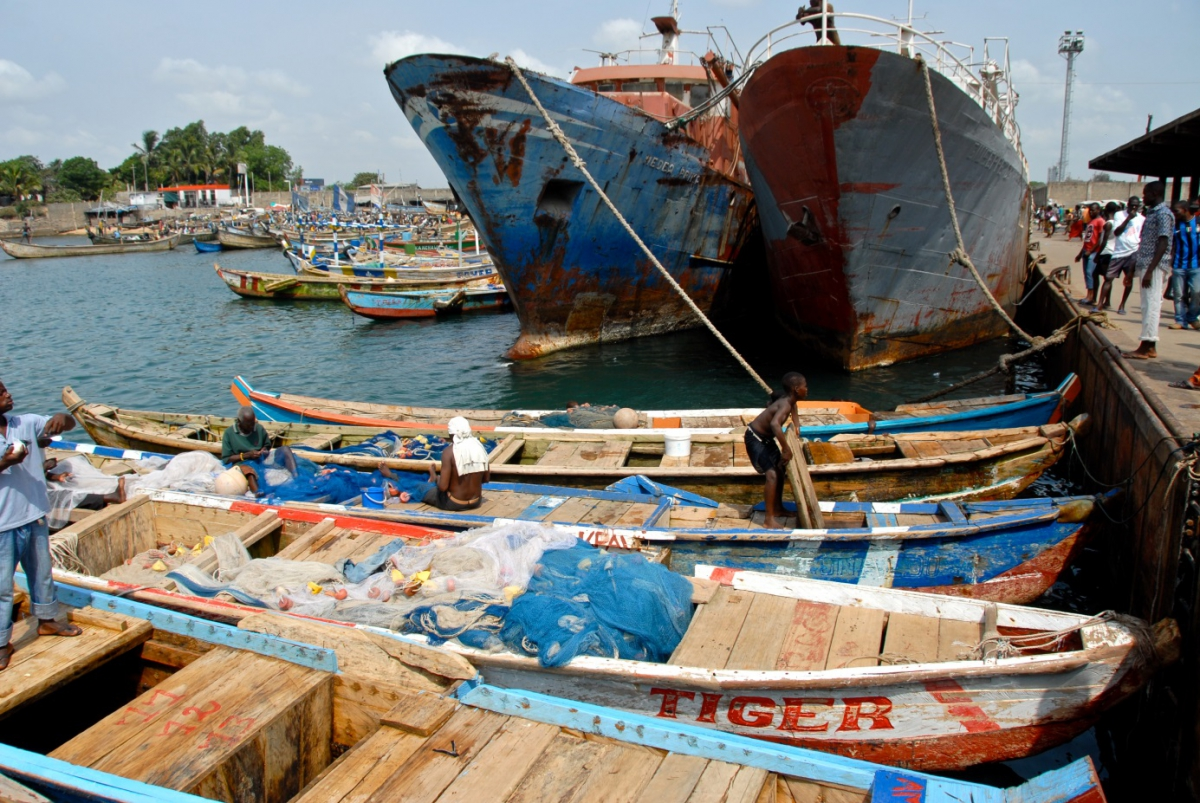 Harbour of Lomé