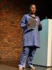 Phillippa Yaa de Villiers starts her performance Shades (photo Fenneken Veldkamp)