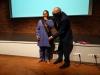 Ton Dietz bestows De Villiers with the title of 'ASC honorary artist' (photo Fenneken Veldkamp)