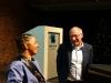 De Villiers and ASC director Ton Dietz (photo Fenneken Veldkamp)