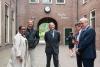 Keynote speaker Prof. Tom Lodge waiting for the guests to arrive. © Eelkje Colmjon-African Studies Centre Leiden
